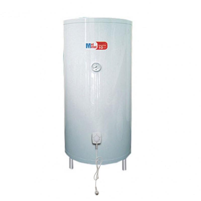 Boiler inox apa calda cu un schimbator de caldura si rezistenta electrica 300 litri
